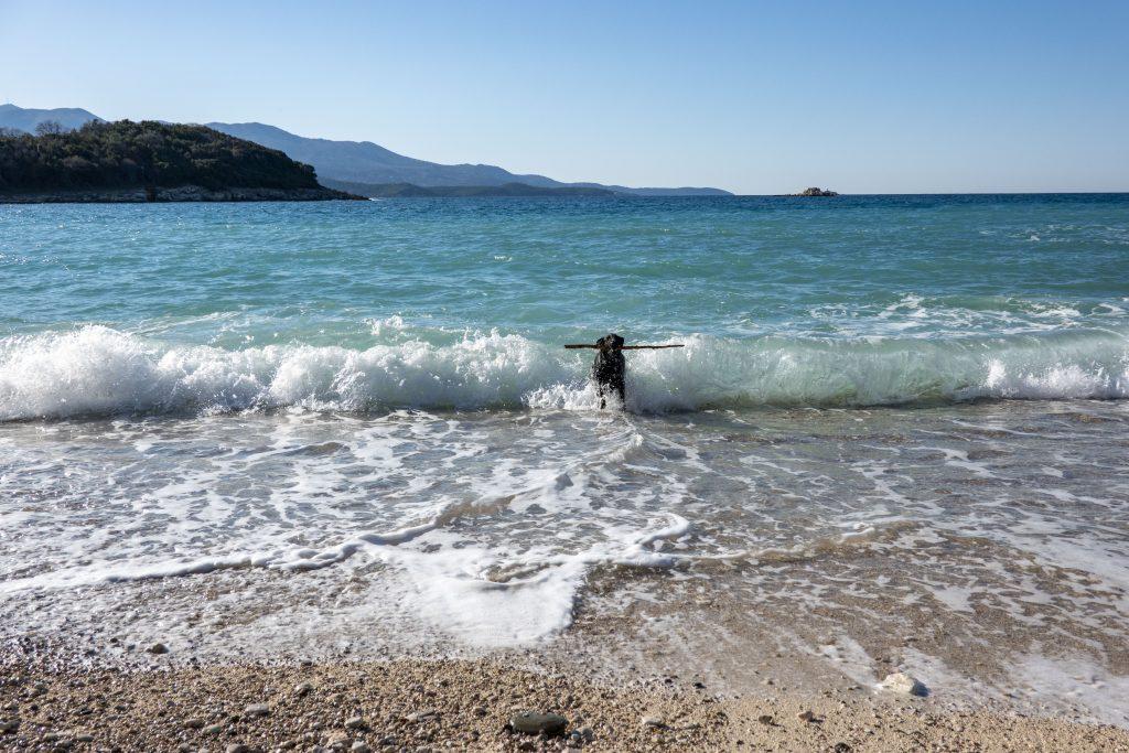 Ksamil strand Albanie