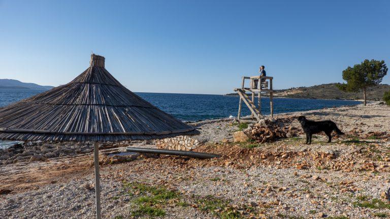 strand Ksamil Albanie