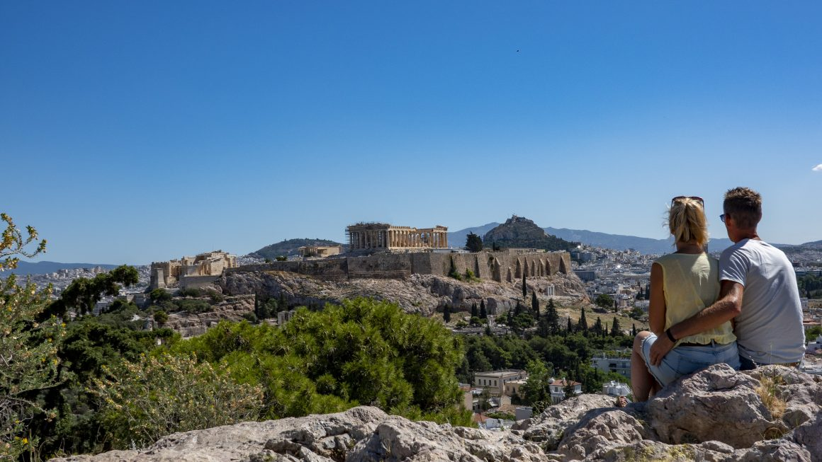 Alleen in Athene