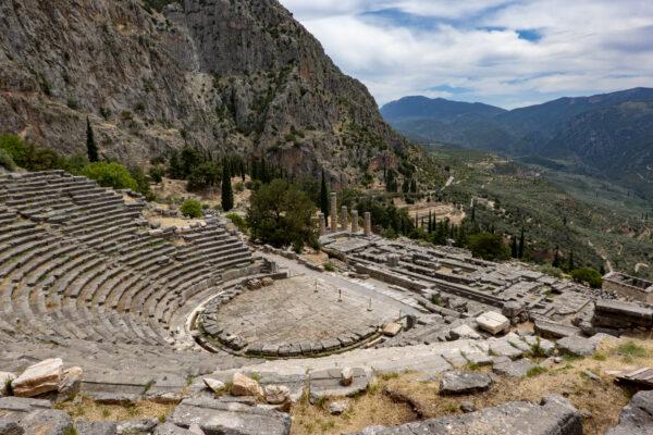 Dichtbij het verleden in Delphi
