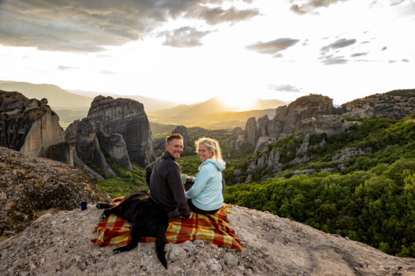Monnikenwerk in Meteora