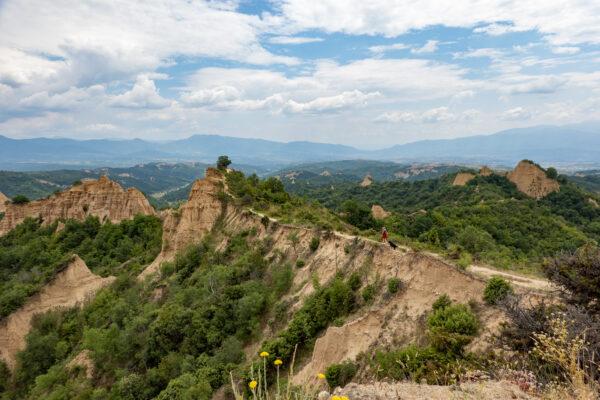 Bulgarije: wandelen langs de zandpiramides van Melnik