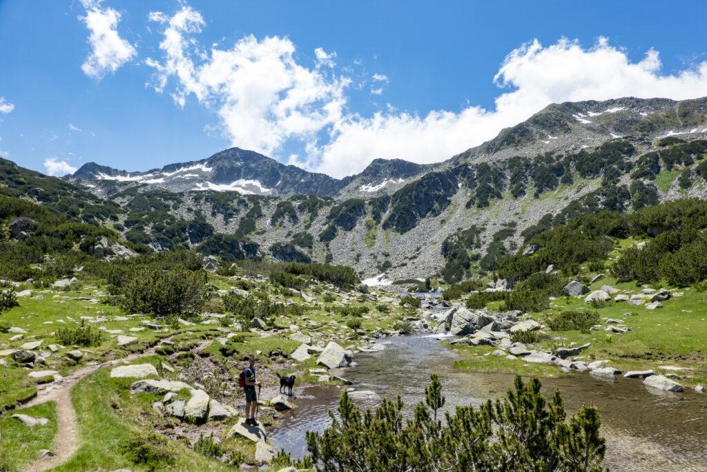 Pirin National Park bergmeer
