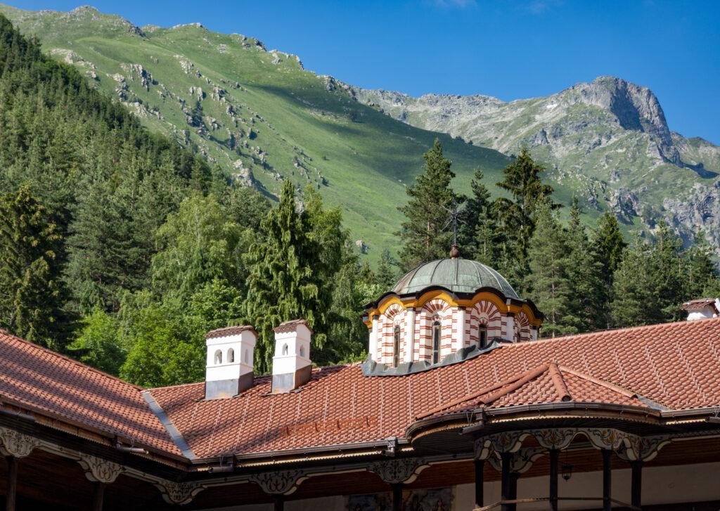 Rila klooster landschap