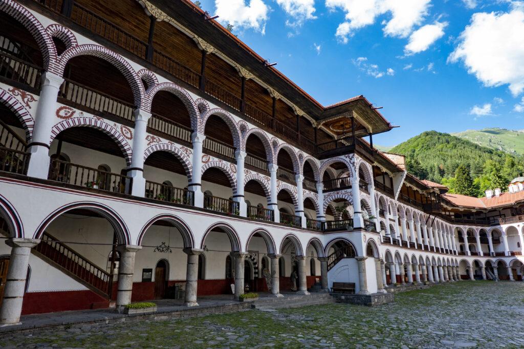 Rila klooster woongedeelte
