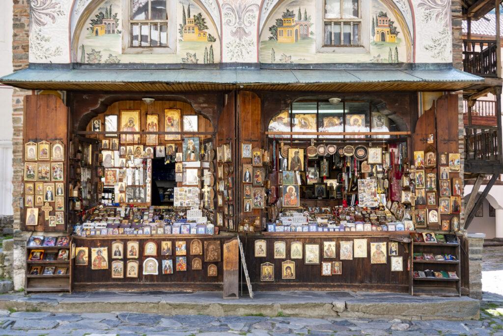 Rila klooster souvenirs