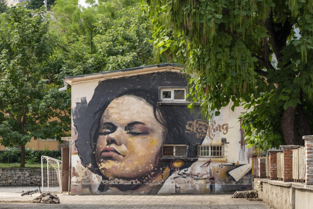 Street art Plovdiv